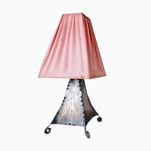 Small Antique Table Lamp by Conrad Fehn for Conrad Fehn