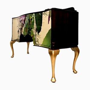 Vintage TV Regal im Vintage Stil
