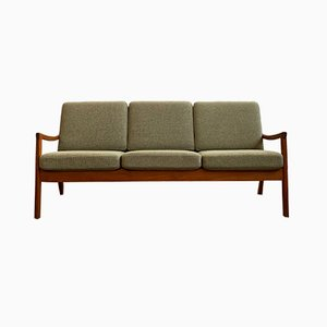 Mid-Century Danish Teak Senator Sofa by Ole Wanscher for Cado, 1970s