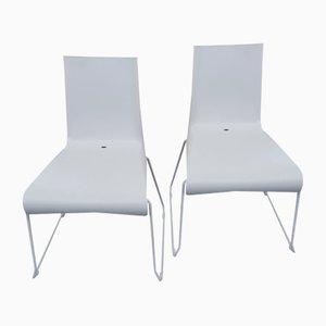 Vintage Stapelbare Plastik Indoor und Outdoor Stühle von Raunkjaer für Skagerak, 2er Set