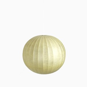 Large Cocoon Ball Ceiling Lamp, 1960s