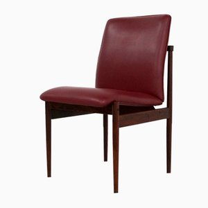 Palisander Esszimmerstühle von Inger Klingenberg für Fristho, 1960er, 4er Set