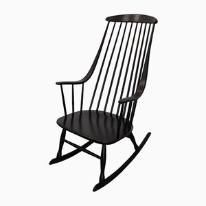 Mid-Century Swedish Rocking Chair by Lena Larsson for Nesto