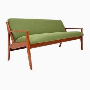 Dänisches Teak Sofa von Arne Vodder für Vamø, 1950er
