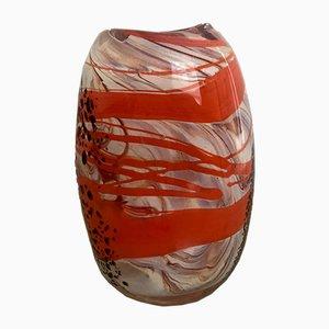 Vintage Art Deco Murano Vase, 1940er