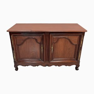 Buffet of Port Nantais in Cuban Mahogany, 1770s