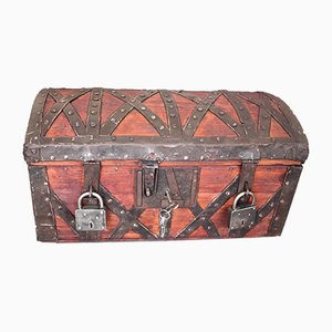 18th Century Chest Box with Lock