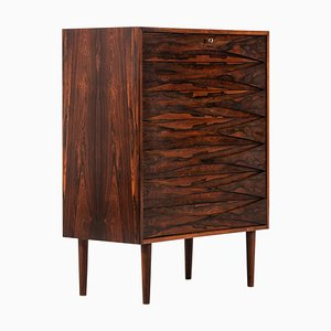 Rosewood Cabinet Attributed to Arne Vodder for N.C. Møbler, Denmark, 1950s