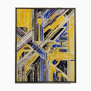 Öl auf Leinwand von KJ Kolding