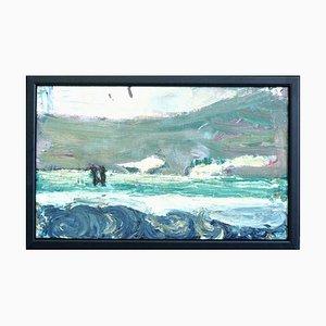 Dänische Expressionistische Malerei im Stil von Jens Søndergaard