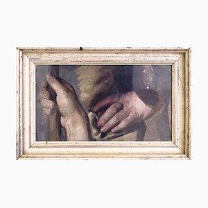 Gemälde des Dänischen Goldenen Zeitalters, 19. Jh. Öl auf Leinwand