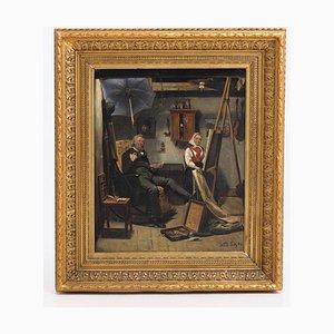 Antikes Gemälde von Waldemar Knut Gustaf Tode