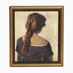 Peinture à l'Huile Antique Impressionniste sur Toile