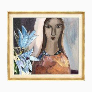 Gemälde Öl auf Leinwand von Josef José, 1960er