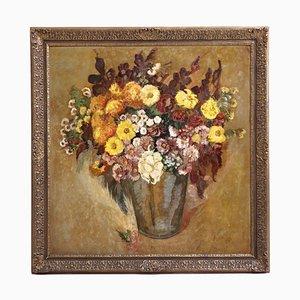 Florale Bemalung von Folmer Bronnén, 1920er