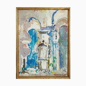 Peinture Russe ou Polonaise par Kedzierski