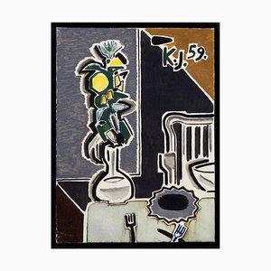 Peinture à l'Huile sur Toile par KJ