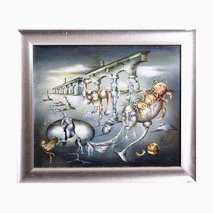 Surrealistische Gemälde Öl auf Leinwand