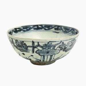 Cuenco chino de porcelana, siglo XVII