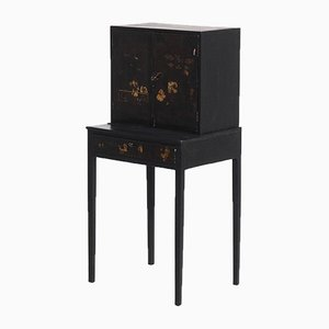 18th Century Chinese Lacquer Cabinet