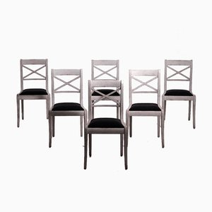 European Chairs with Original Seats, Set of 6