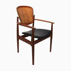Modell FD Armlehnstuhl von Arne Vodder für France & Søn, 1960er