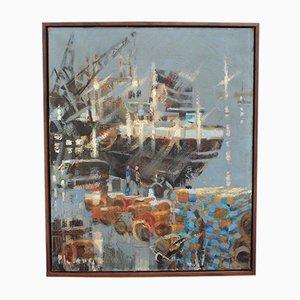 Stopover in Port by Pierre Lelong, 1960s