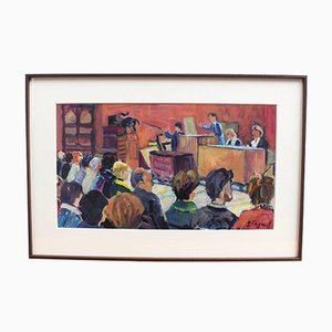The Auction House by Gerard Fagard, 1970s