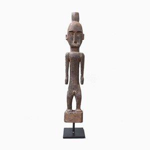 Figurine Sculpture Ancestrale Vintage en Bois de Fer de Borne