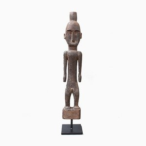 Vintage Wooden Carved Ancestral Figure of Ironwood from Borne