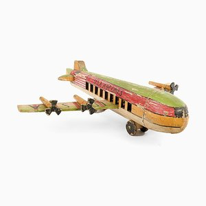 U.S.A Airlines Model Airplane in Wood, 1920s