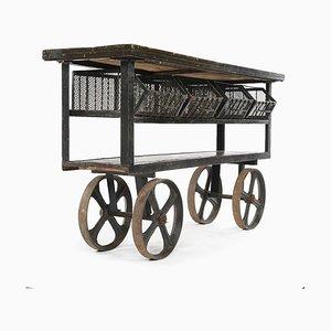 Rollwagen mit Schließfächern, 1940er