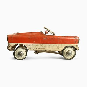 Red and White Children's Car, 1920s
