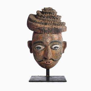 Indische Holzmaske, 1850er