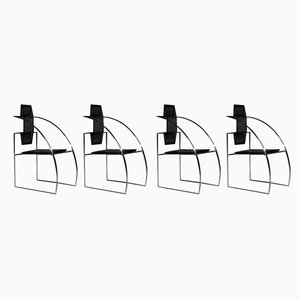 Quinta Chairs by Mario Botta for Alias, 1980s, Set of 4