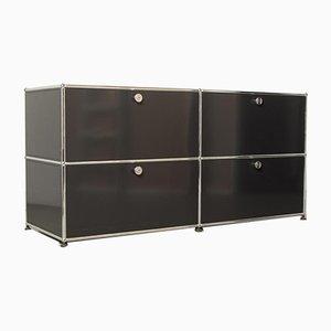 Armoire System Noire de USM Haller, 2000s