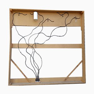 Lampada da parete minimalista, anni '90