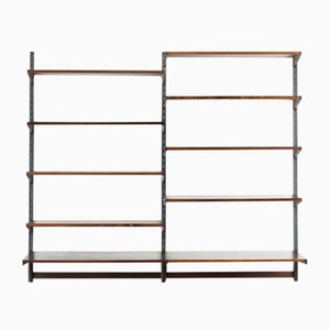 Rosewood Racking Shelf Unit by Kai Kristiansen for FM Møbler, 1960s