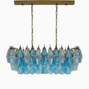 Poliedri Murano Glass Chandelier by Carlo Scarpa, 1978