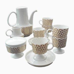 Coffee Set by Tapio Wirkkala for Rosenthal, 1970s, Set of 15
