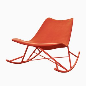 Metal and Polyurethane Rocking Chair from Sintesi, Italy, 2010
