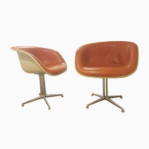 Sillas La Fonda de Charles & Ray Eames para Herman Miller, años 60. Juego de 2