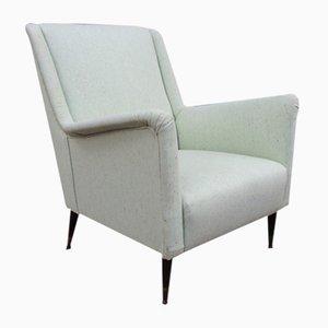 Italienische Mid-Century Sessel im Stile von Gio Ponti, 2er Set