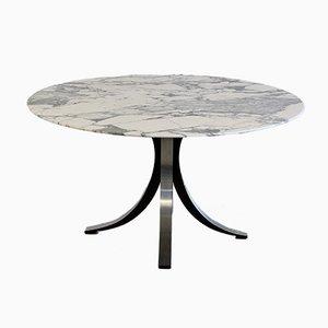 Dining Table with Marble Top by Osvaldo Borsani & Eugenio Gerli for Tecno, 1964