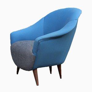 Mid-Century Egg Chair im Stil von Ico Parisi, 1950er