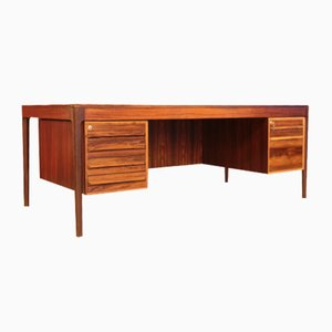 Rosewood Desk by Torbjørn Afdal for Bruksbo, Norway, 1970s