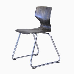Mid-Century Industrial Dining Chair by Adam Stegner for Flötotto, 1960s