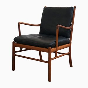 Mid-Century Danish Model PJ149 Lounge Chair by Ole Wanscher for Poul Jeppesens Møbelfabrik, 1960s