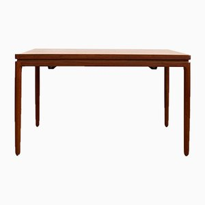 Mid-Century Danish Teak Dining Table by Johannes Andersen for Christian Linneberg, 1950s