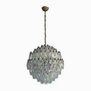 Murano Glass Poliedri Spherical Chandelier, 1980s
